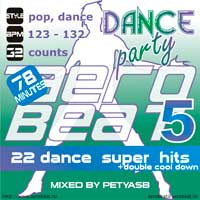 Музыка для аэробики и шейпинга Aerobeat Dance Party 5